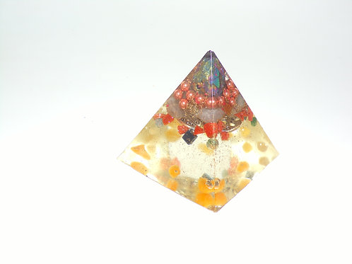 4 sided  Orgonite Pyramid