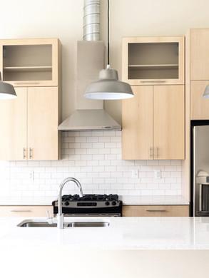 Modern Kitchen Cabinet installation