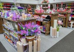 Kerzenshop-Ladeneinrichtung