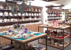 Geschirrpräsentation - Shop-in-Shop-Konzepte