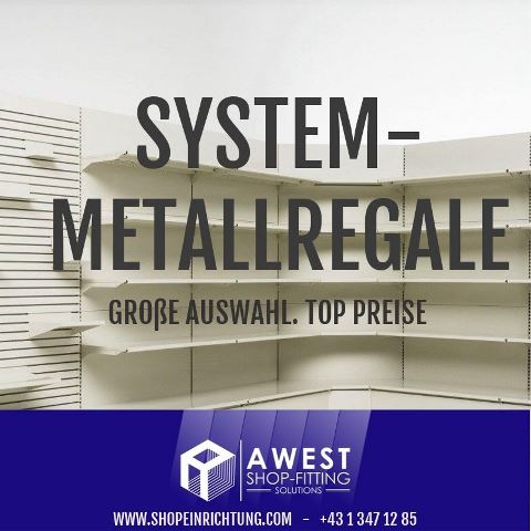 Metallregale, Lochblechwaende