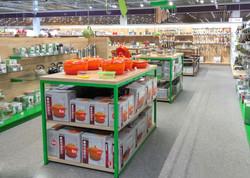 Shop-in-Shop Konzepte bei Markenwarenpräsentation