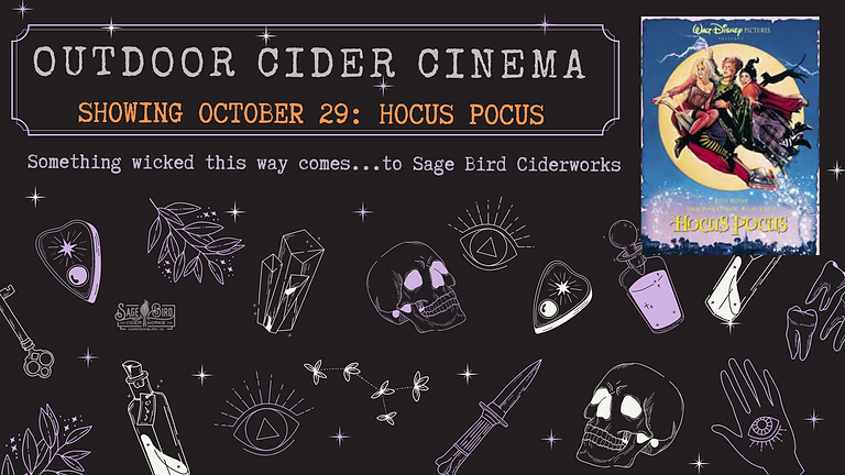 Outdoor Cider Cinema: Hocus Pocus