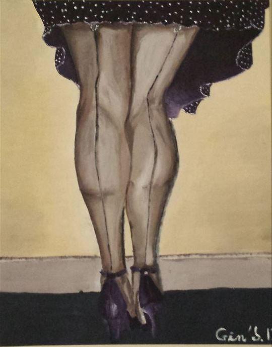 seam stockings 2