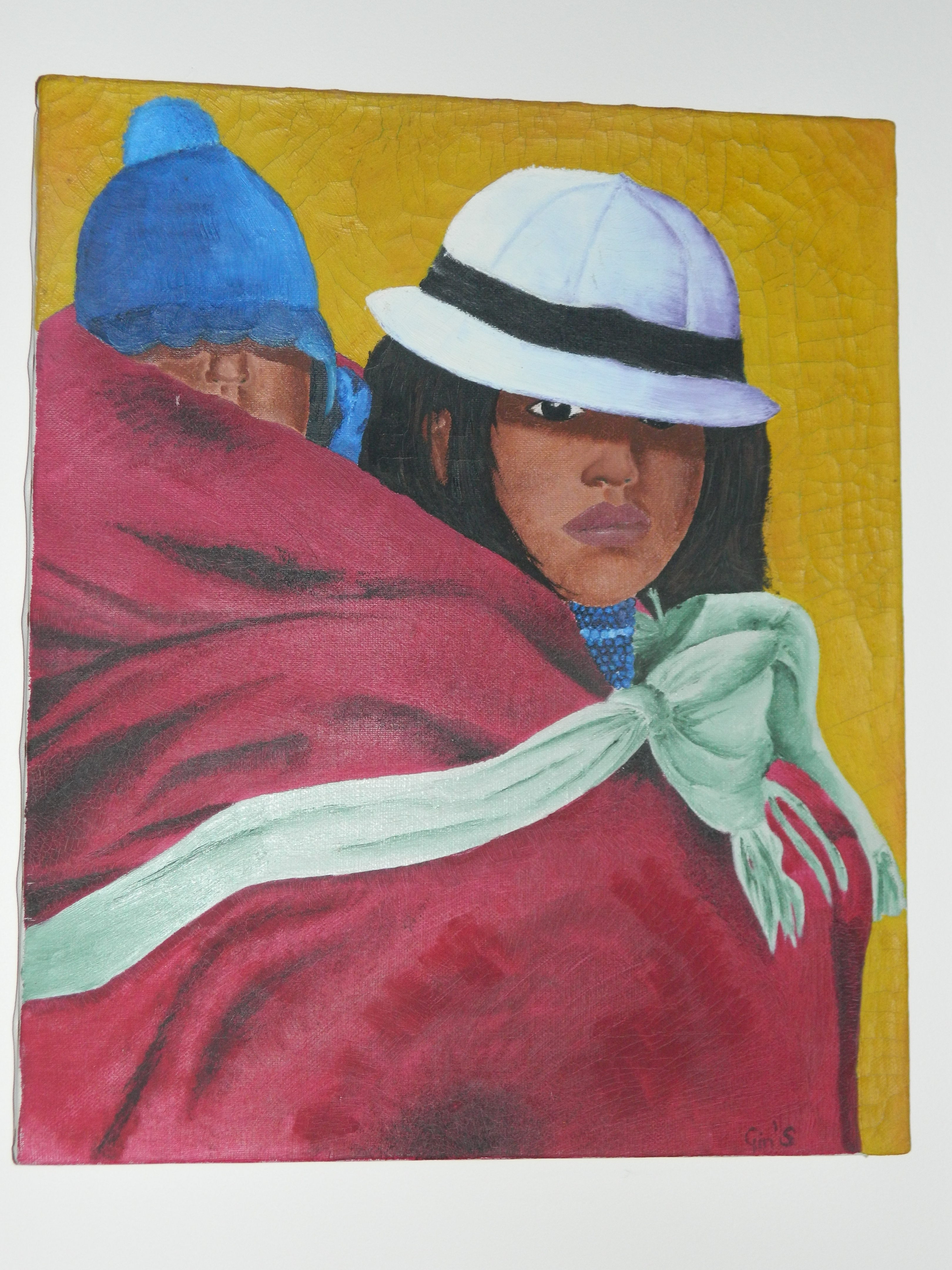 South American woman, 2000