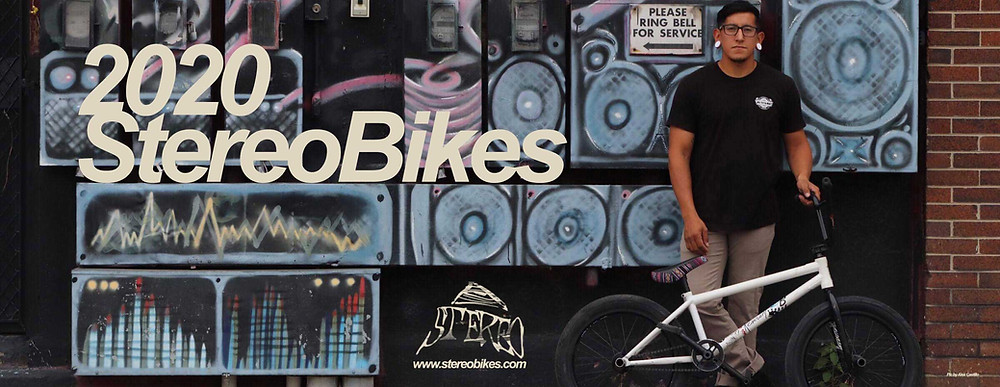 Stereo Bikes 2020 BMX Bikes now online !