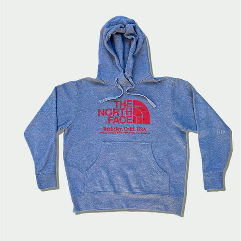 North Face Hoodie, Berkeley Calif, USA (M)