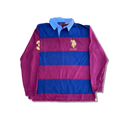 RALPH LAUREN POLO Rugby Shirt (M)