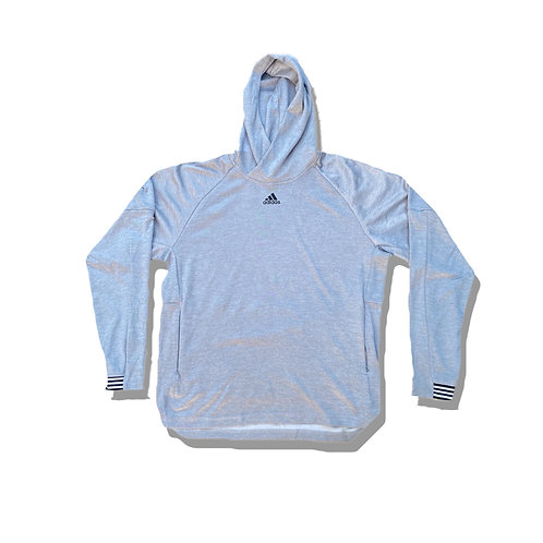 ADIDAS Small Logo Hoodie, sports material (S/M)