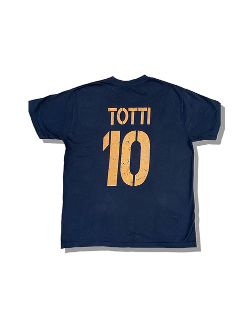 TOTTI 10 Wolf Design T-Shirt (M)
