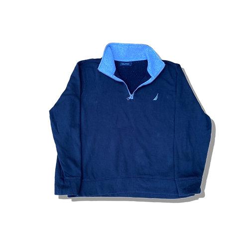 Nautica ¼ Zip Fleece Sweatshirt (L)