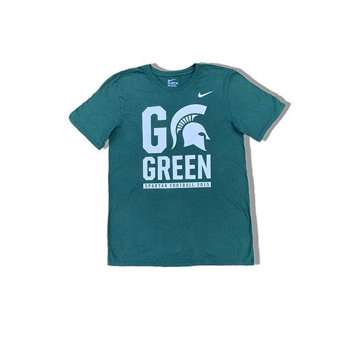 NIKE GO GREENS Spartan Football College T-Shirt (M/L)