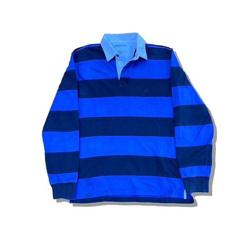 NAUTICA Small Logo Rugby Shirt (M)