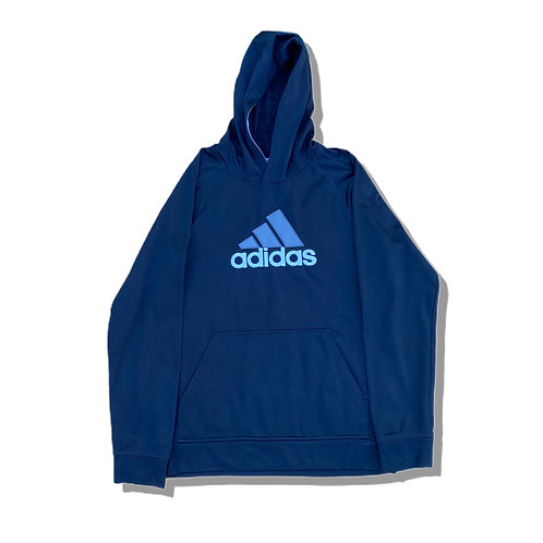ADIDAS Big Logo Hoodie Sports Material (S)