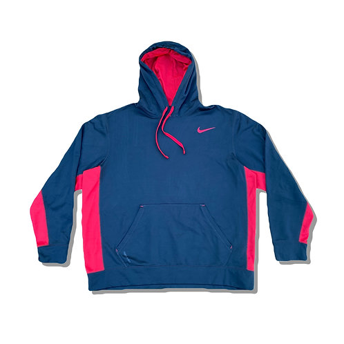 NIKE Black Therma Fit Hoodie Small Logo (S)