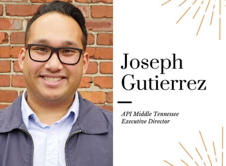 AAPIHM Board Member Monday Feature: Joseph Gutierrez