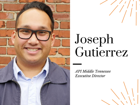 AAPIHM Board Member Monday Feature: Joseph Gutierrez