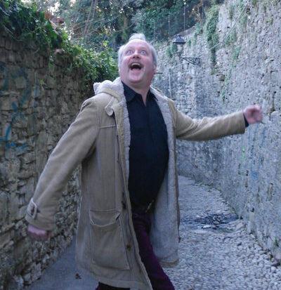 Författaren Peter Erik Du Rietz i Palermo, Italien