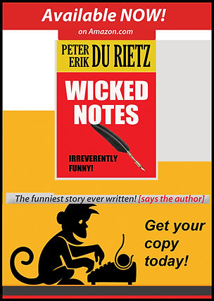 Wicked notes, a short story by author Peter Erik Du Rietz