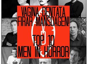 Top 10 men in horror!