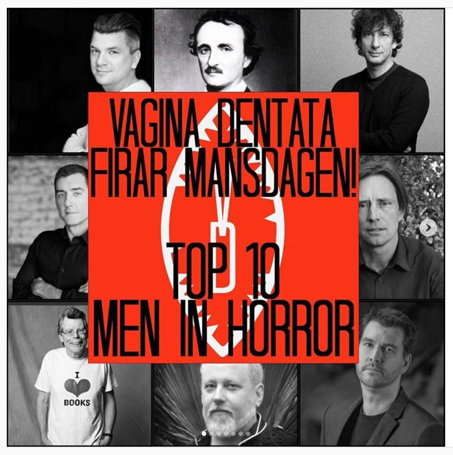 Top 10 men in horror fiction!