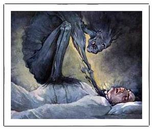 Vrik, ett mytologiskt monster.