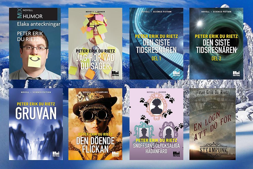 E-noveller, Peter Erik Du Rietz