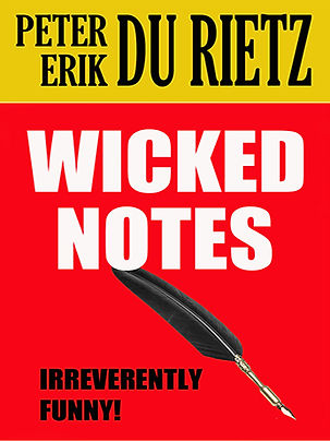 The short story Wicked notes by Peter Erik Du Rietz