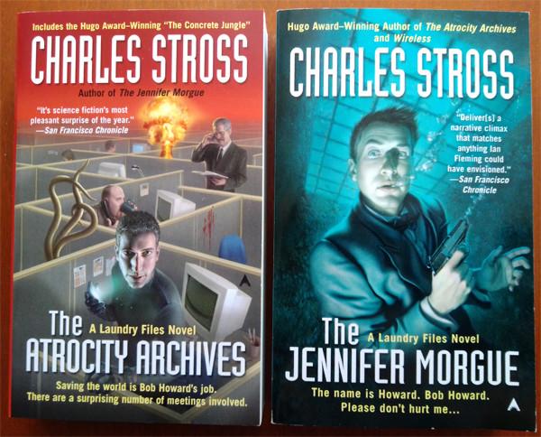 Böcker av Charles Stross.