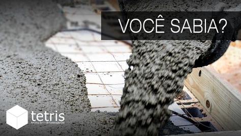 O concreto é o segundo material mais consumido no mundo