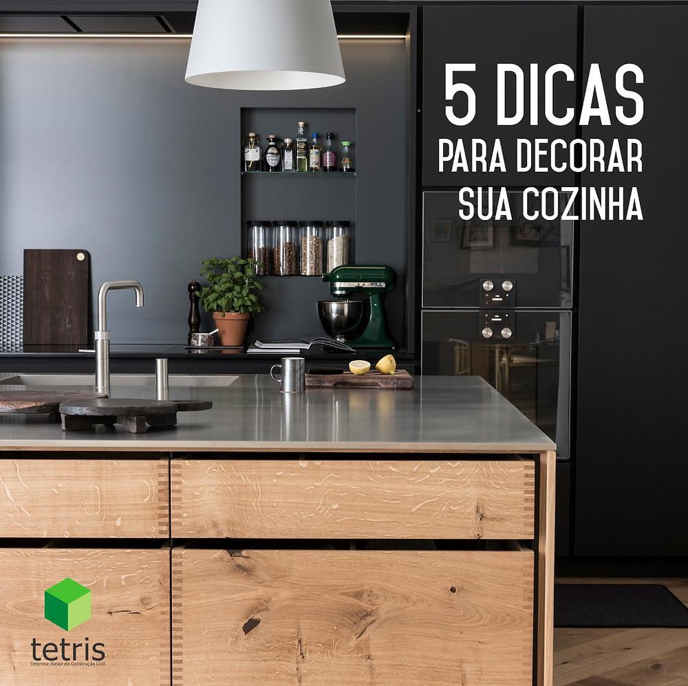 Decoração de cozinhas - Cinco dicas para decorar sua cozinha