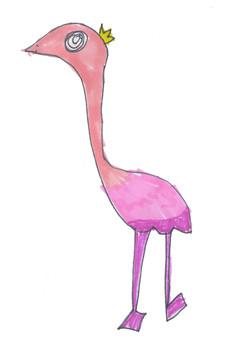 perfect flamingo