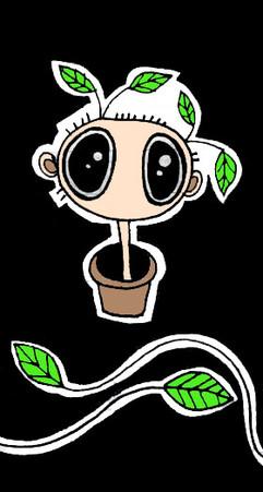 leafy man
