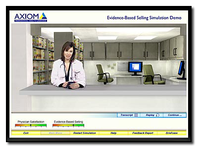 Axiom Pharma Sales Simulation