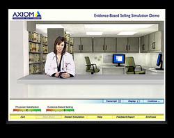 Axiom Pharma Sales Simulation