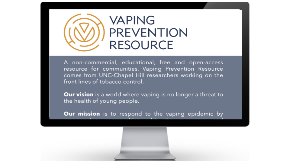 Vaping Prevention Resource