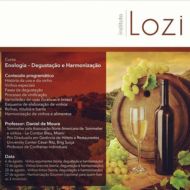 Enologia - Degustação e harmonização