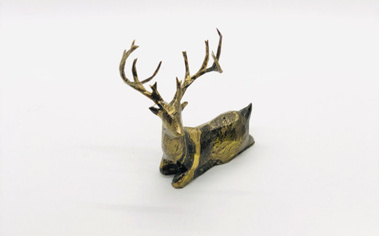 Limited Edition Marbled Gold Buck