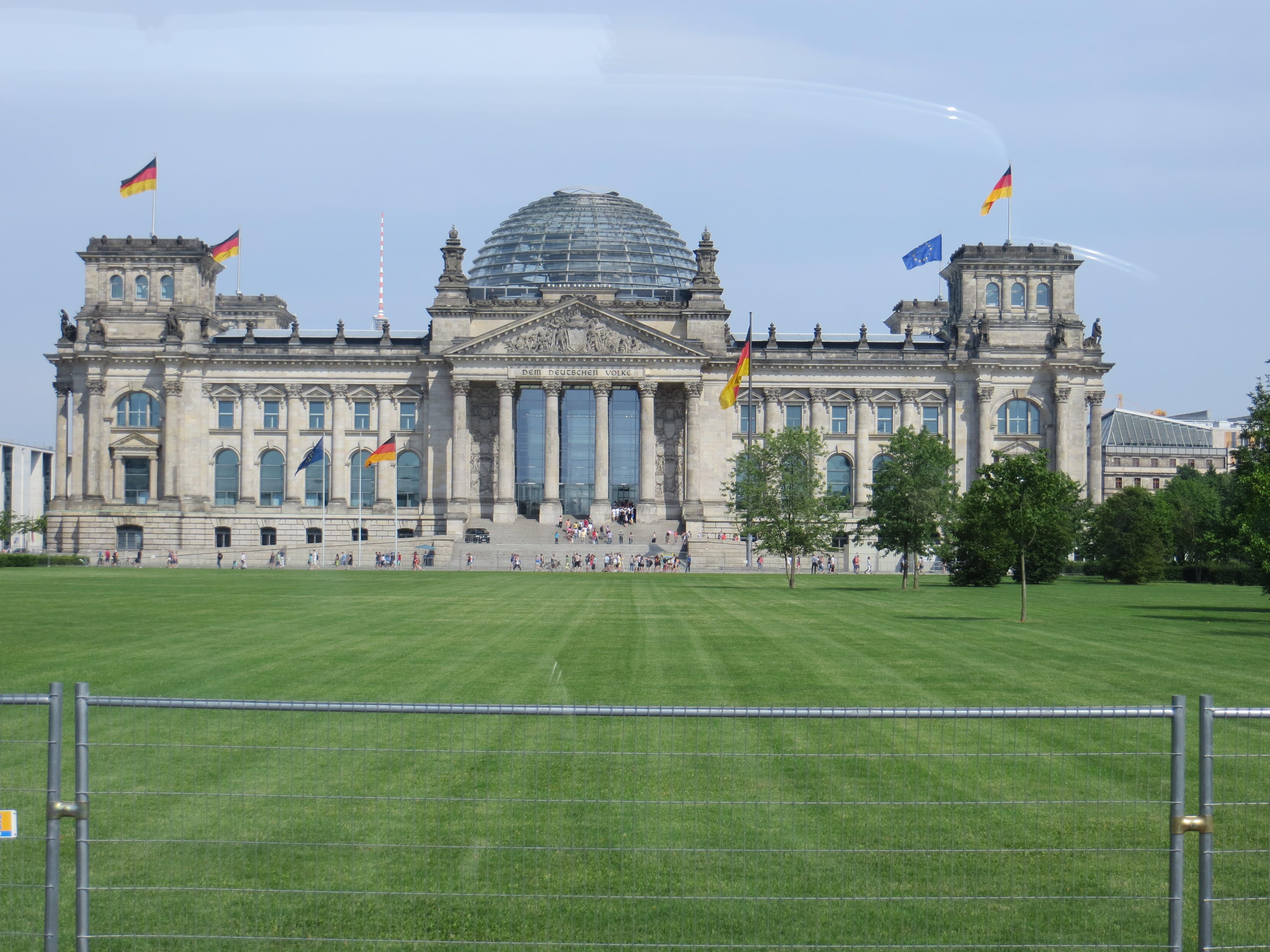 Berlin 7.17 Reichstag