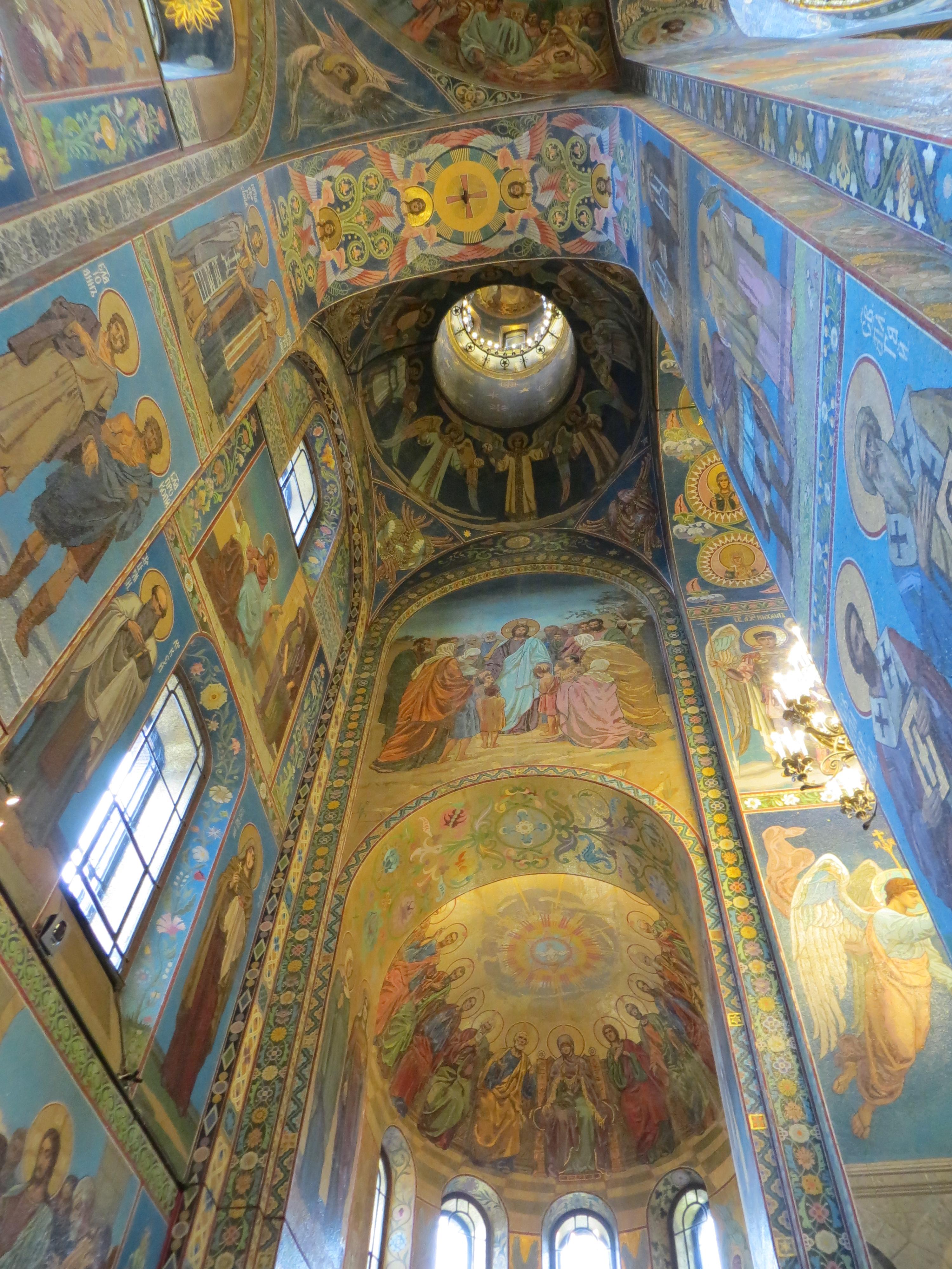 St Petesburg spilled blood church