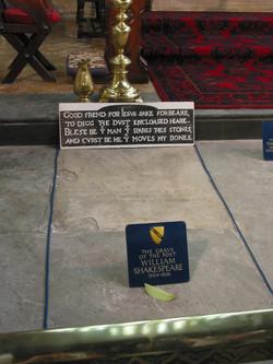 2005 England Shakespeare grave