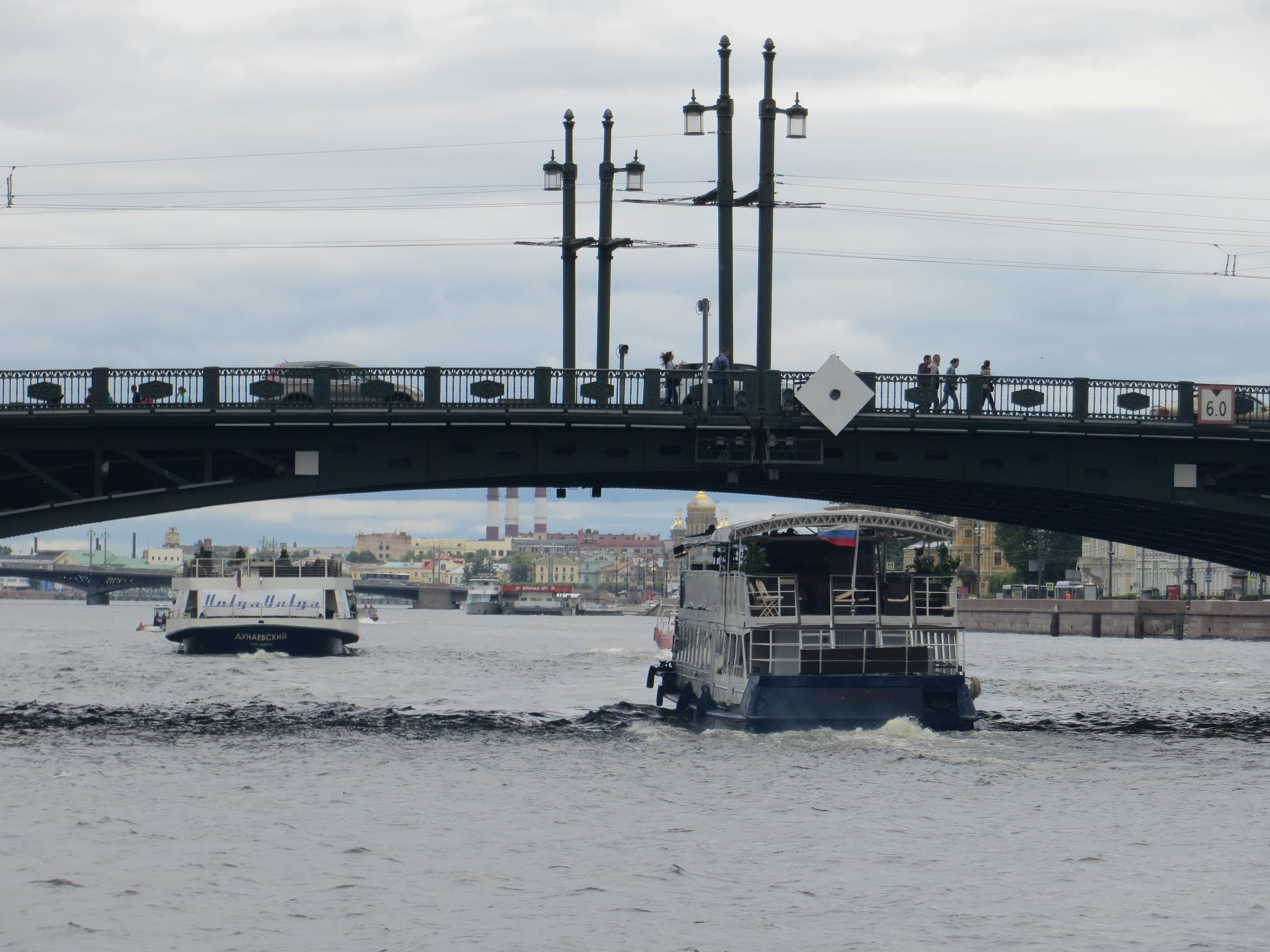 St Petersburg Russia waterways