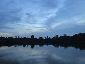Siem Reap, Cambodia Angkor Wat temple sunrise