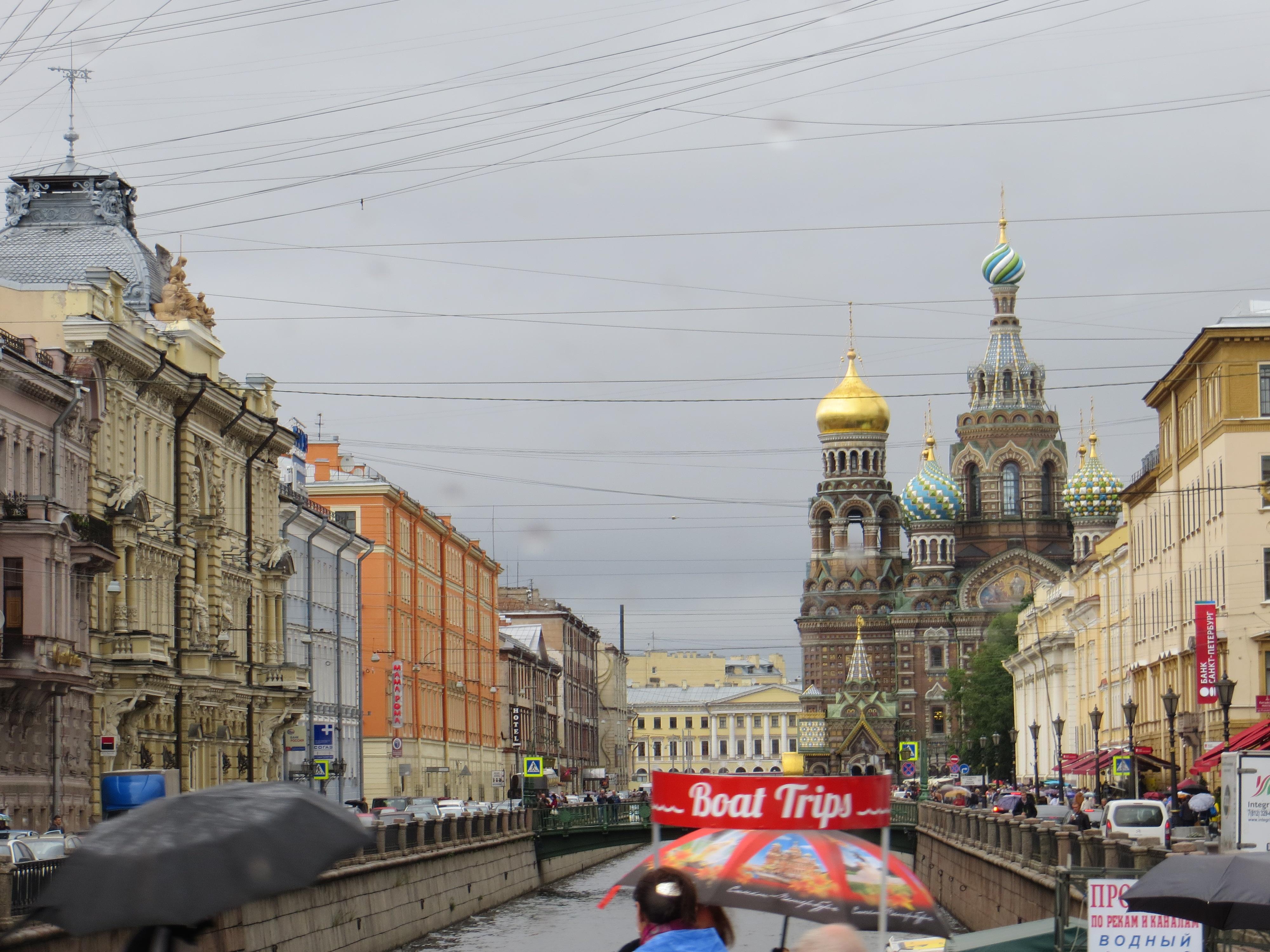 St Petersburg Russia Spilt Blood