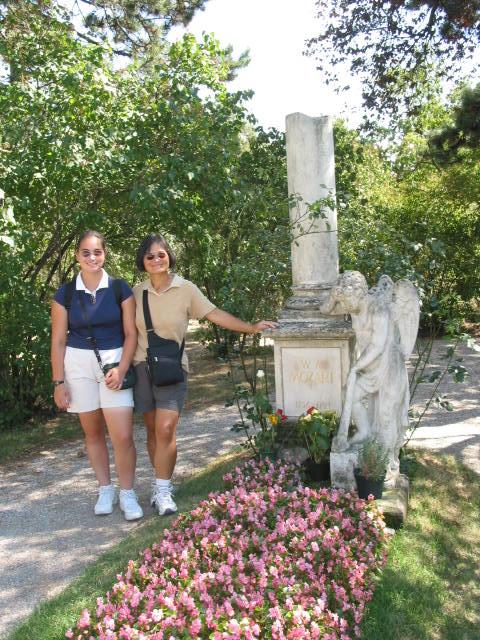 2003 Europe 03 Vienna Mozart grave