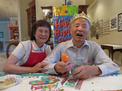 Grandpa turns 80 4.12.13