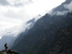 Lijiang Tiger Leaping Gorge hike in Shangri-La selfie best 2016-07-04 139