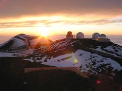 2003 Mauna Kea Big Island mksunset