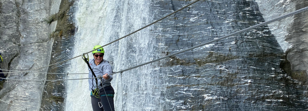 2019 via ferrata Wanaka Wild Wire New Ze