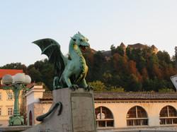 2018 Ljubljana, Slovenia famed dragon br